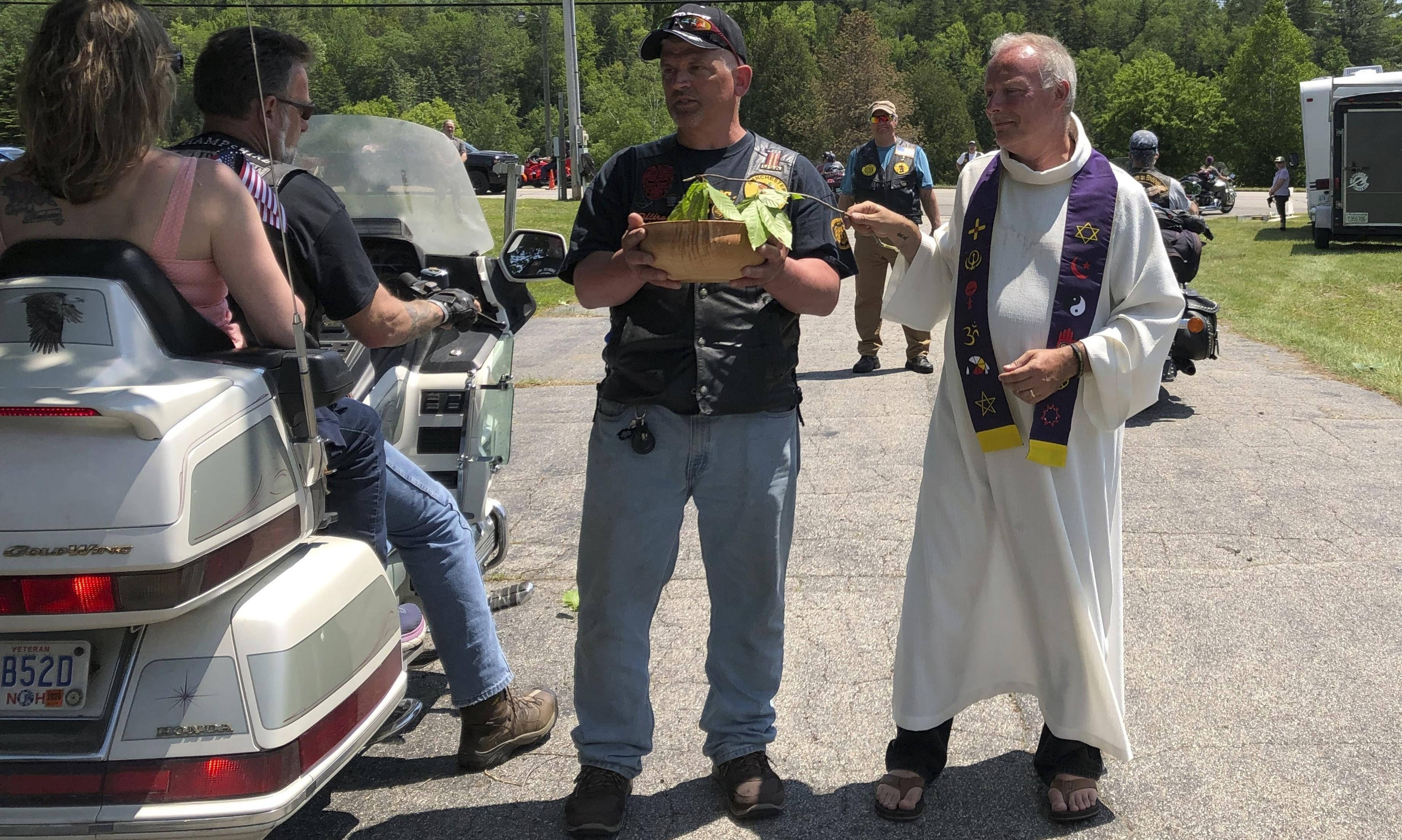 Blessing of the Bikes mourns seven killed in fiery New Hampshire crash