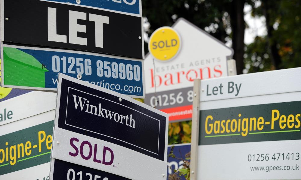 Buoyant UK housing market