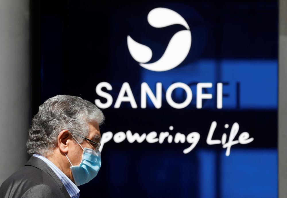The headquarters of Sanofi in Paris, France