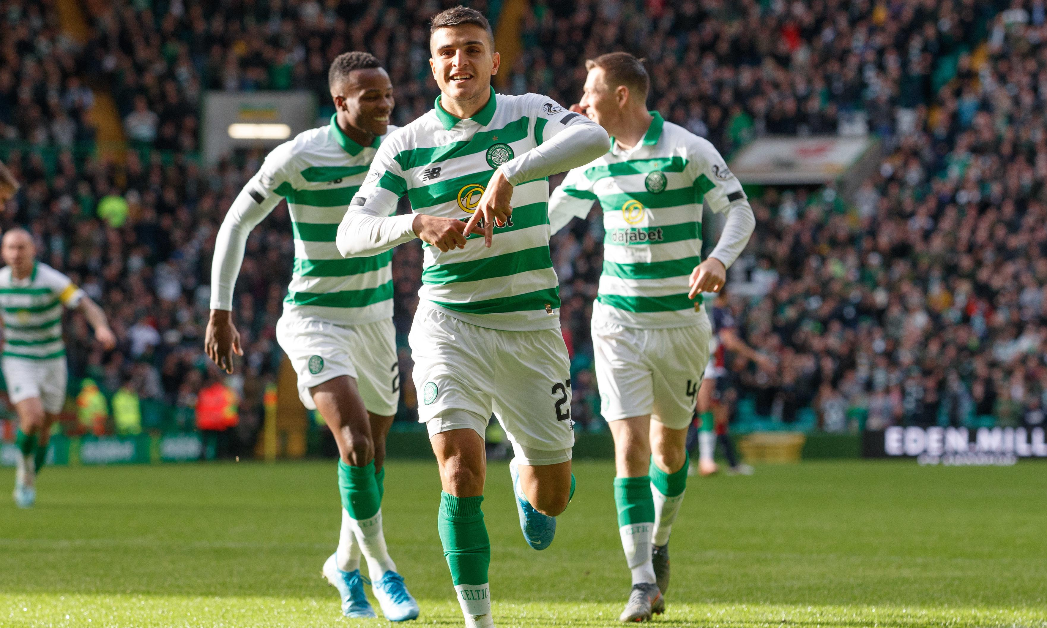 Elyounoussi scores two against Ross County to put Celtic back on top