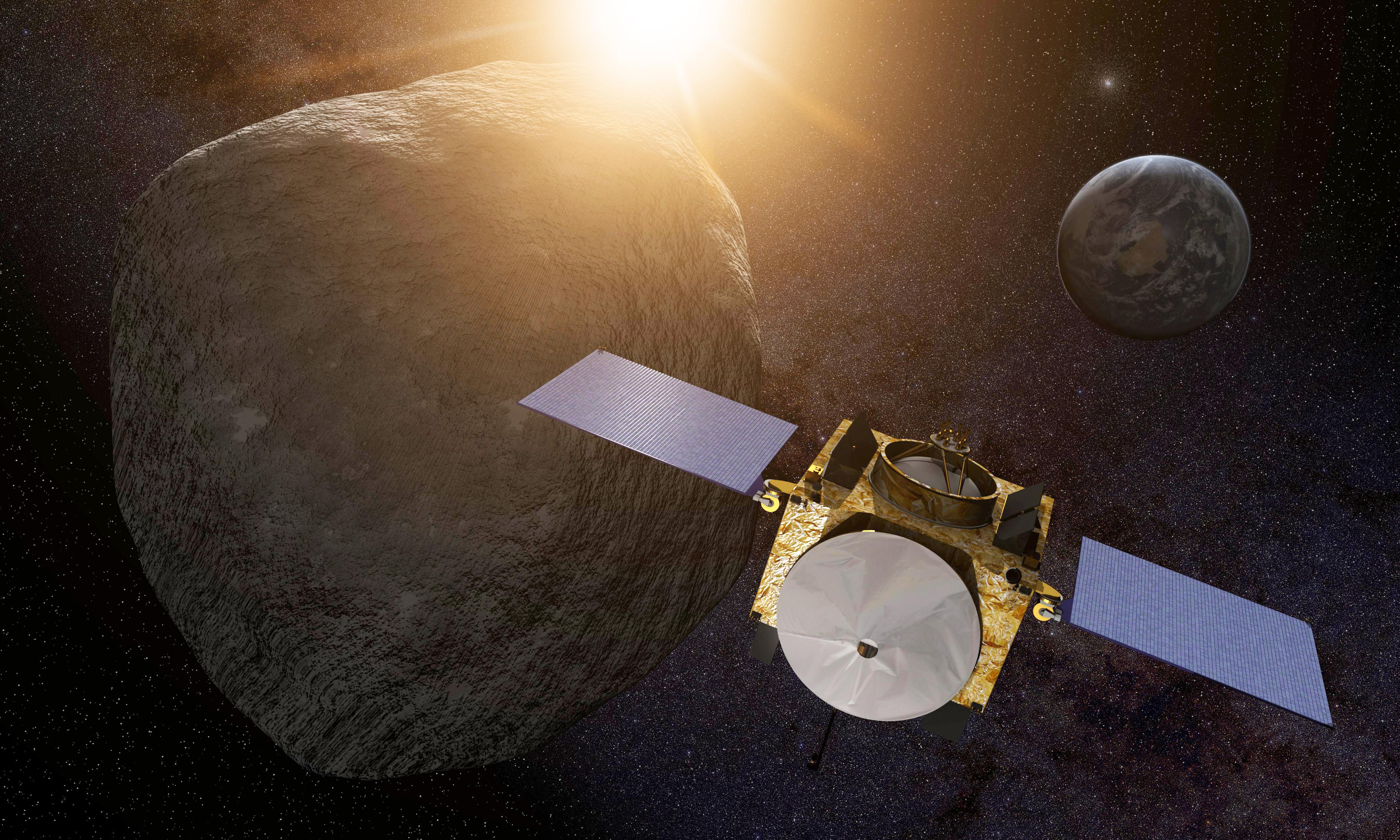 Nasa probe reaches Bennu – asteroid that could one day hit Earth