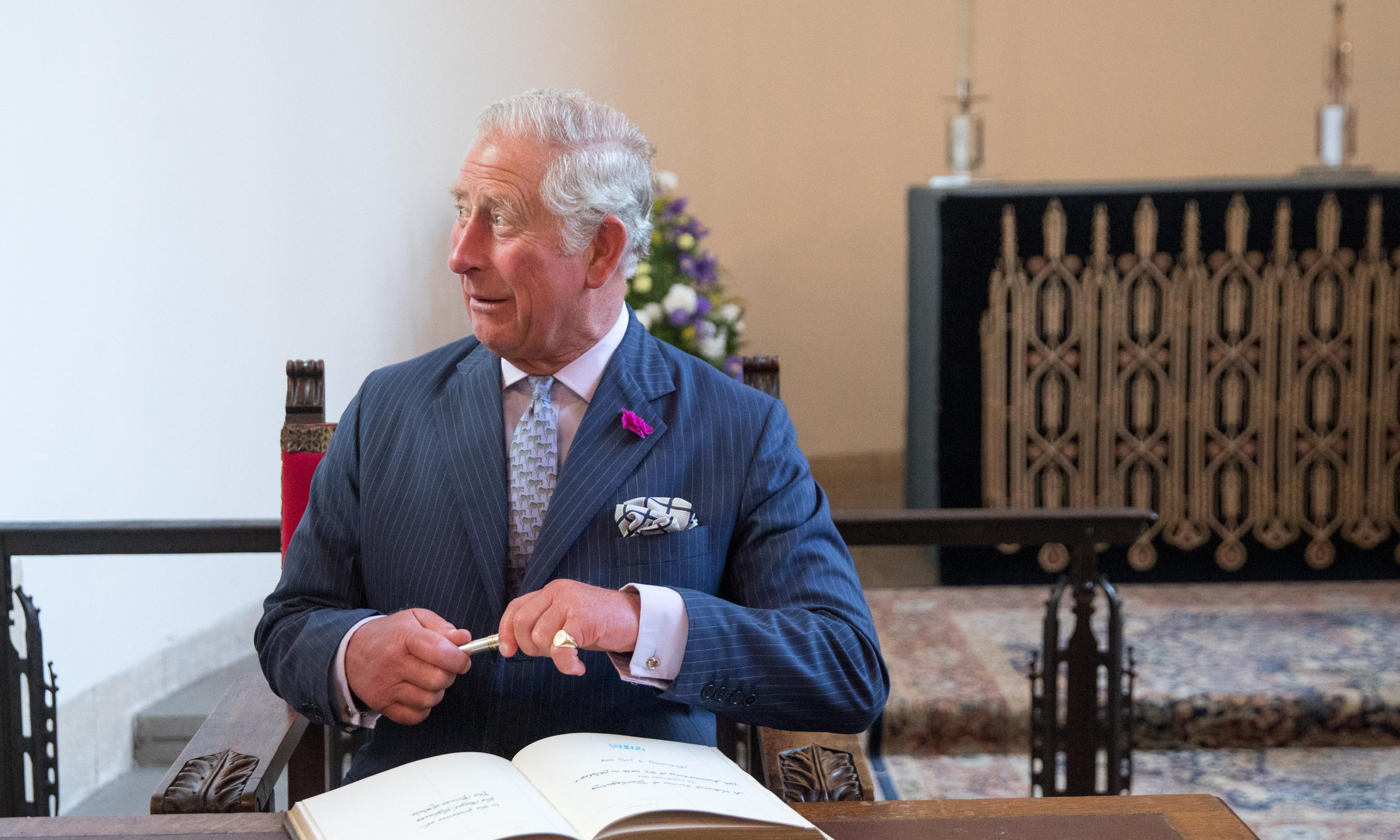 Ize on the prize: is Prince Charles the last guardian of British spelling?
