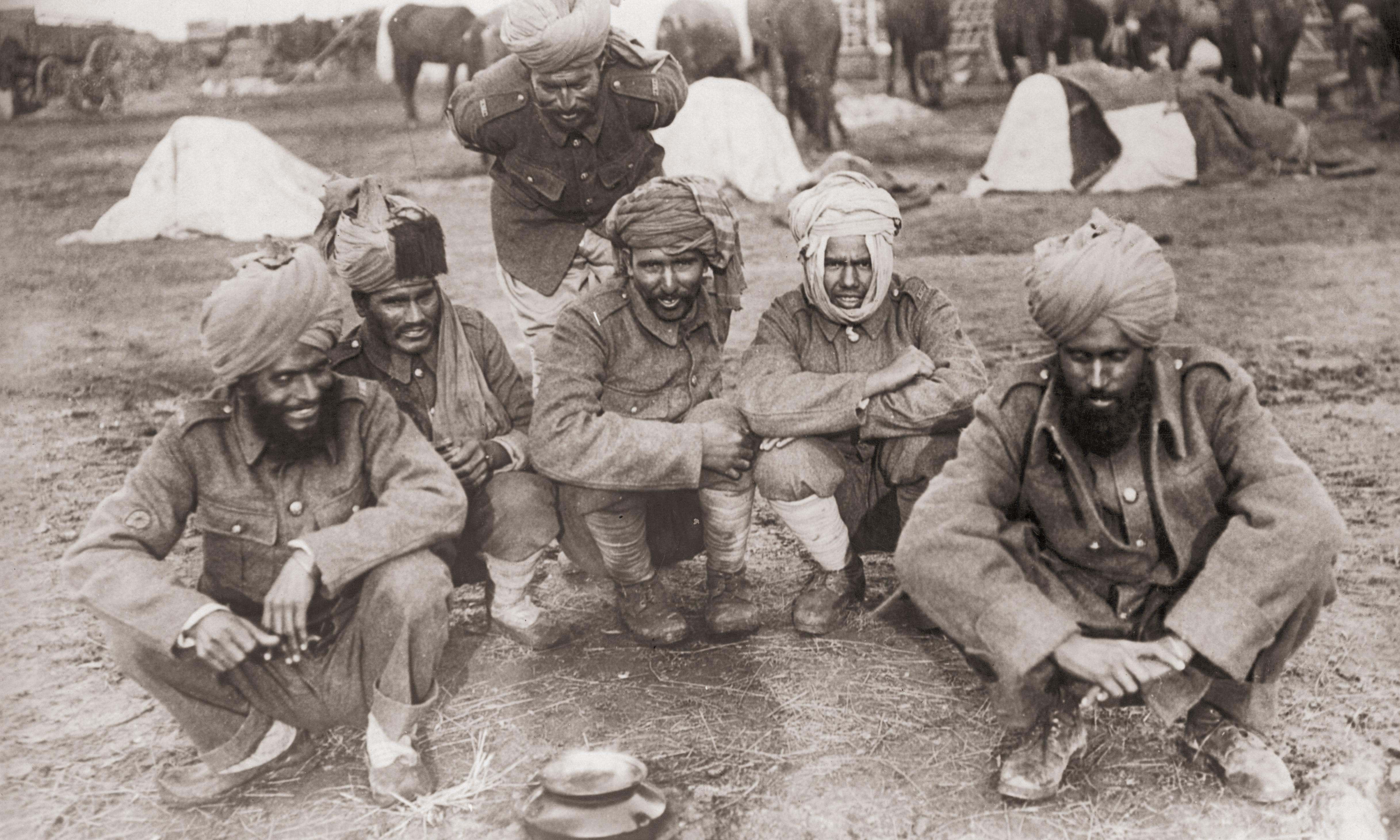 Indians in the trenches: voices of forgotten army are finally to be heard