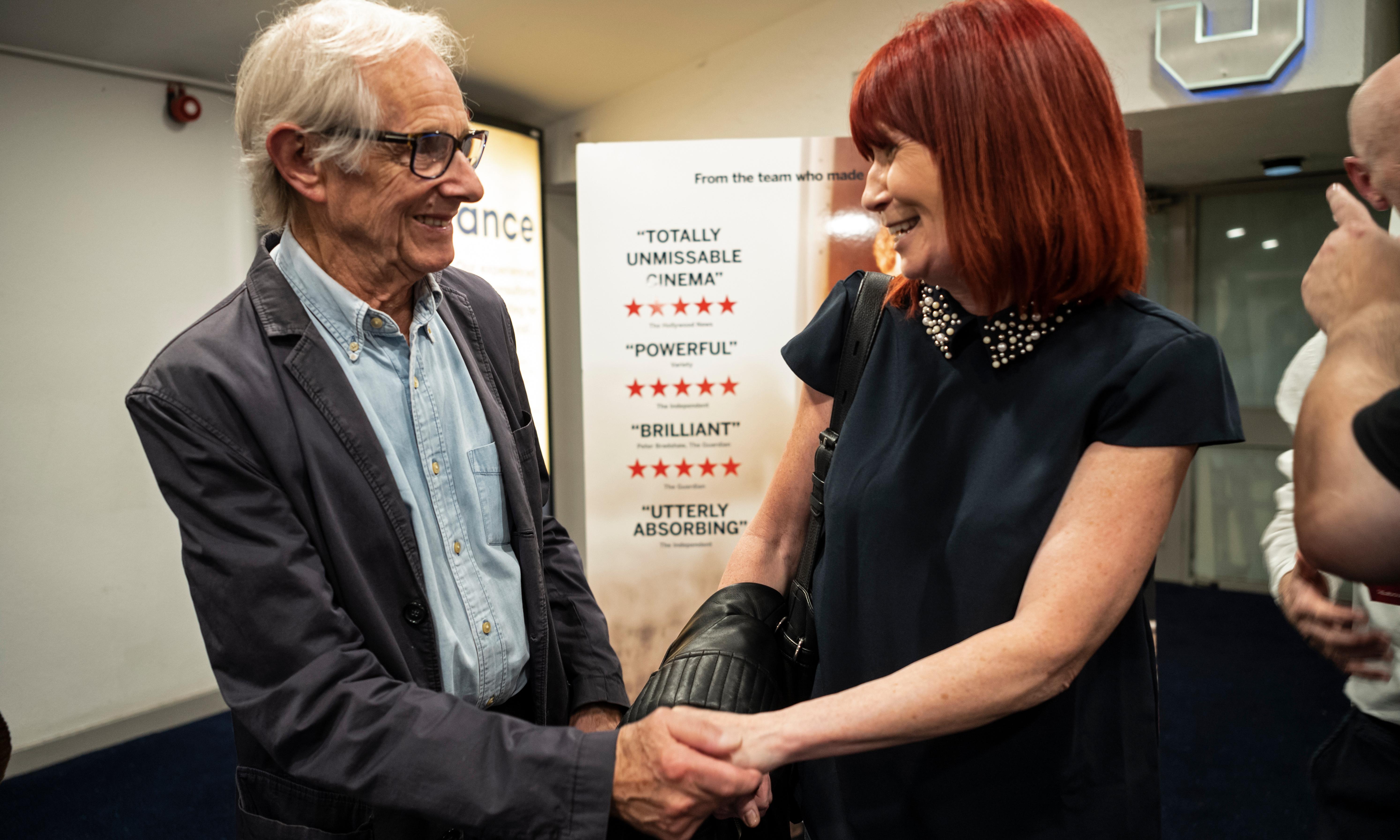 'You give Don a voice': courier's widow praises Ken Loach film