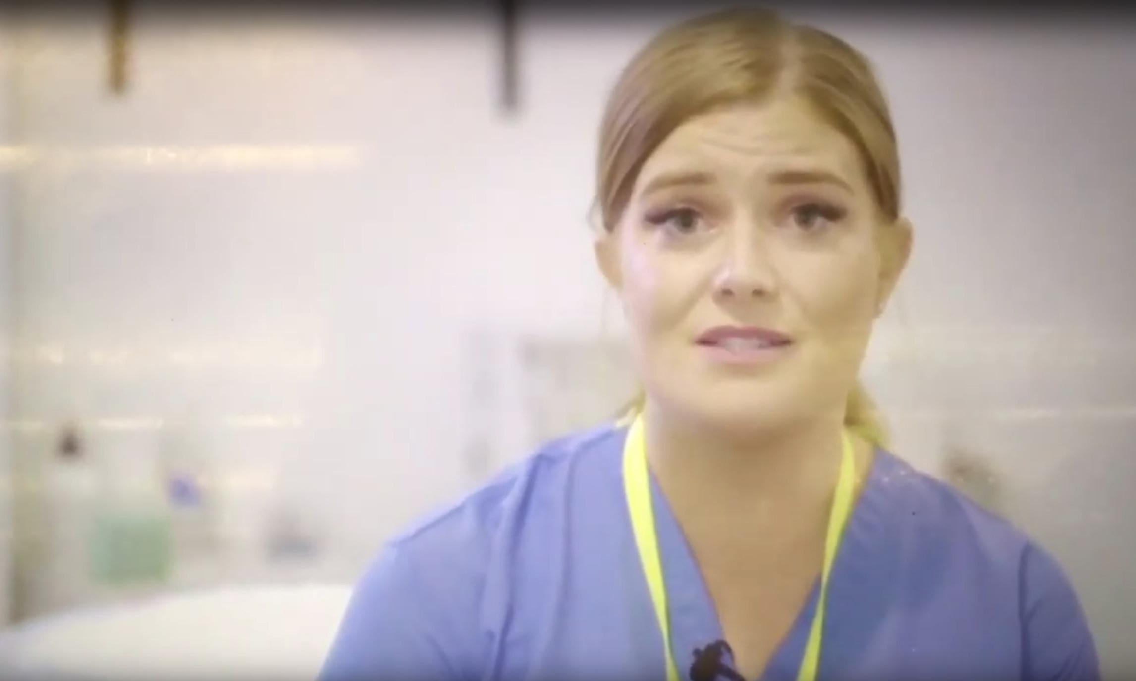 Fake nurse! Welsh Labour withdraws video featuring actor