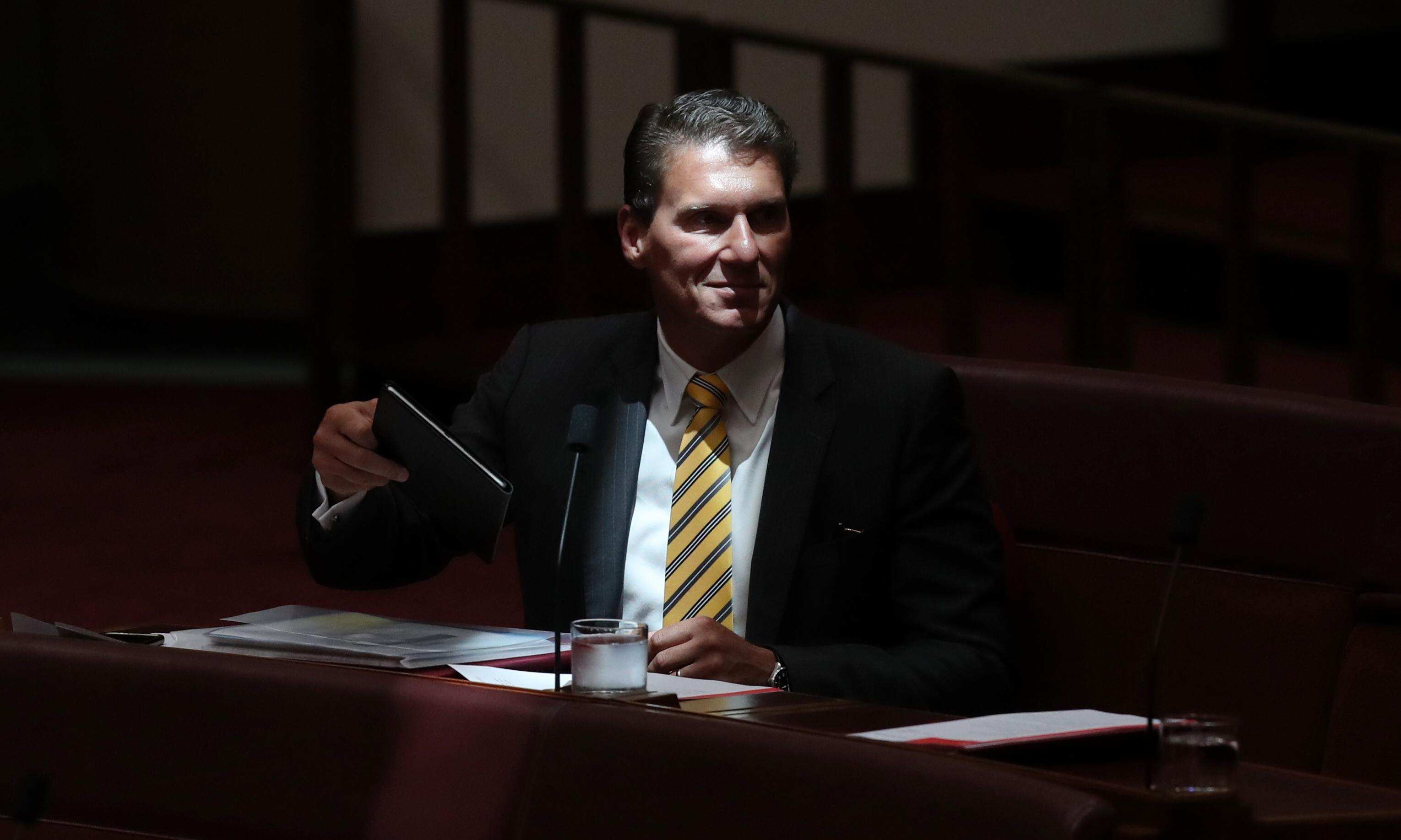 Cory Bernardi on the painful death of the Australian Conservatives