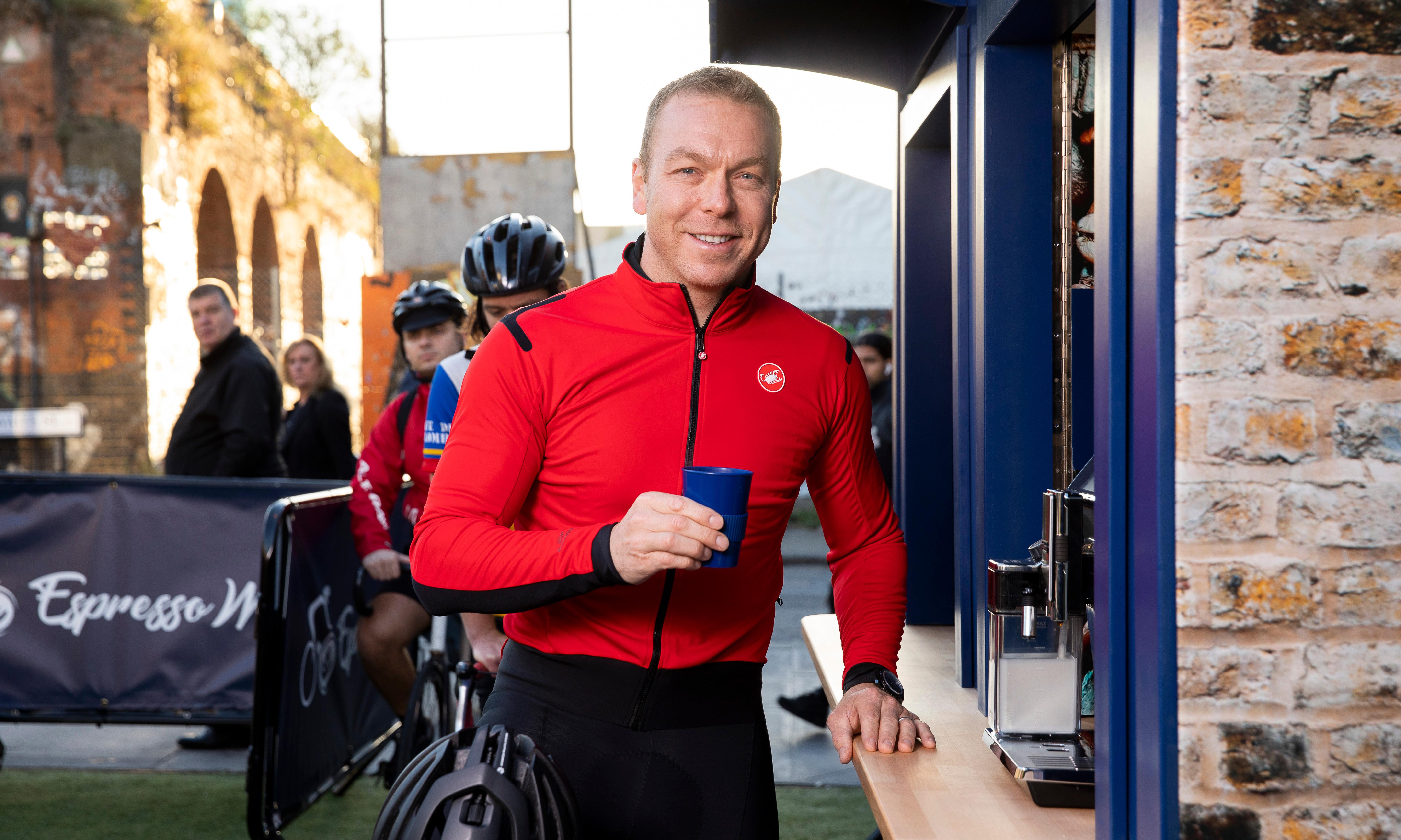 Chris Hoy calls for end to cyclist and motorist 'them and us' mentality