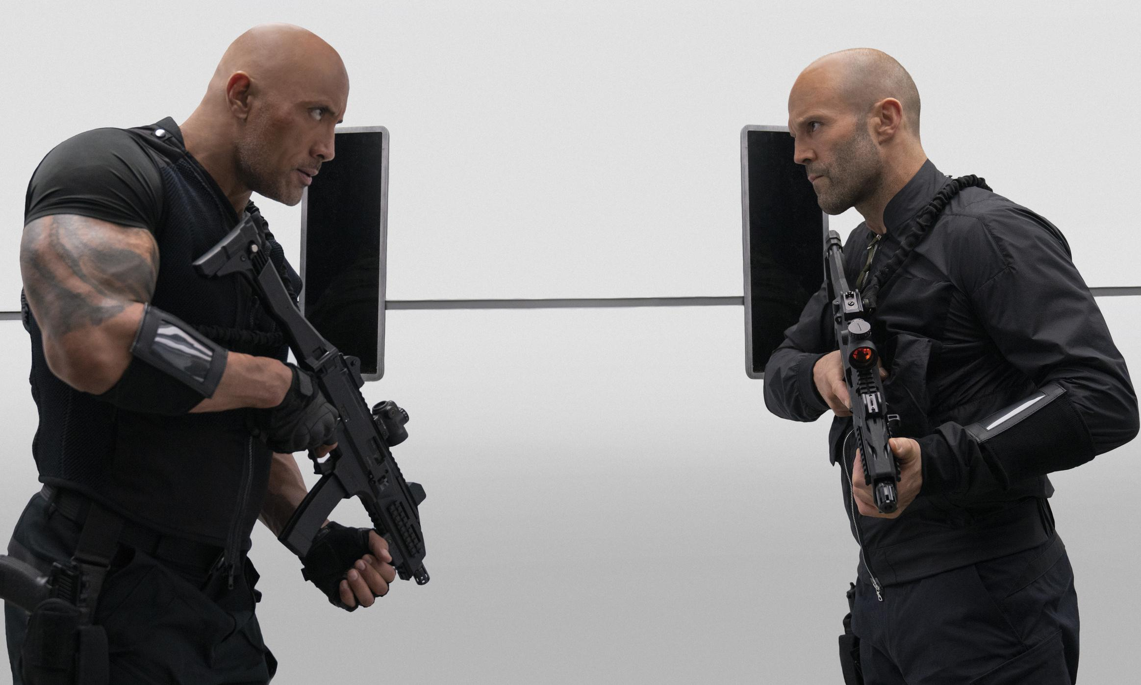Jason Statham and The Rock 'refuse to lose fights against one another'