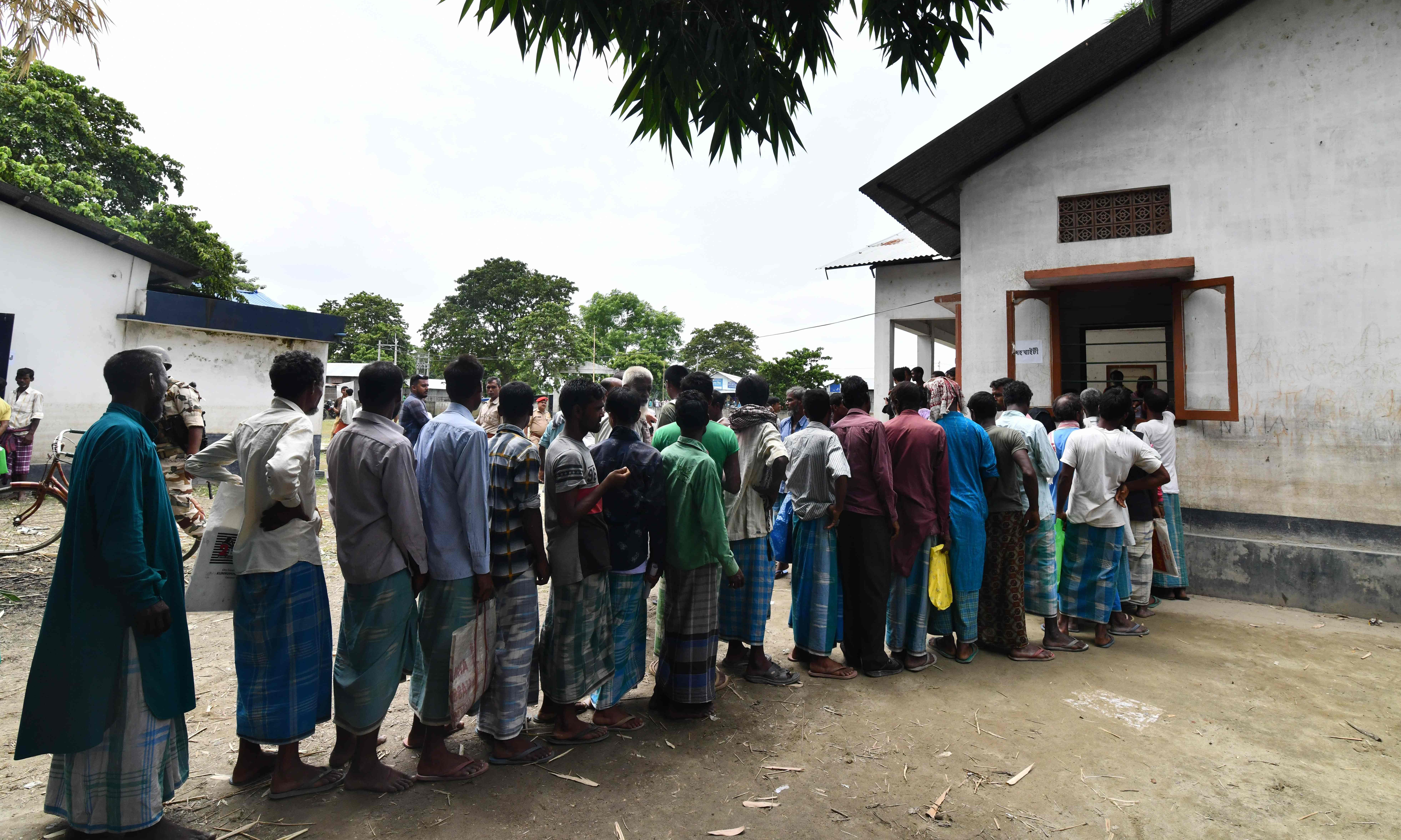 India: almost 2m people left off Assam register of citizens