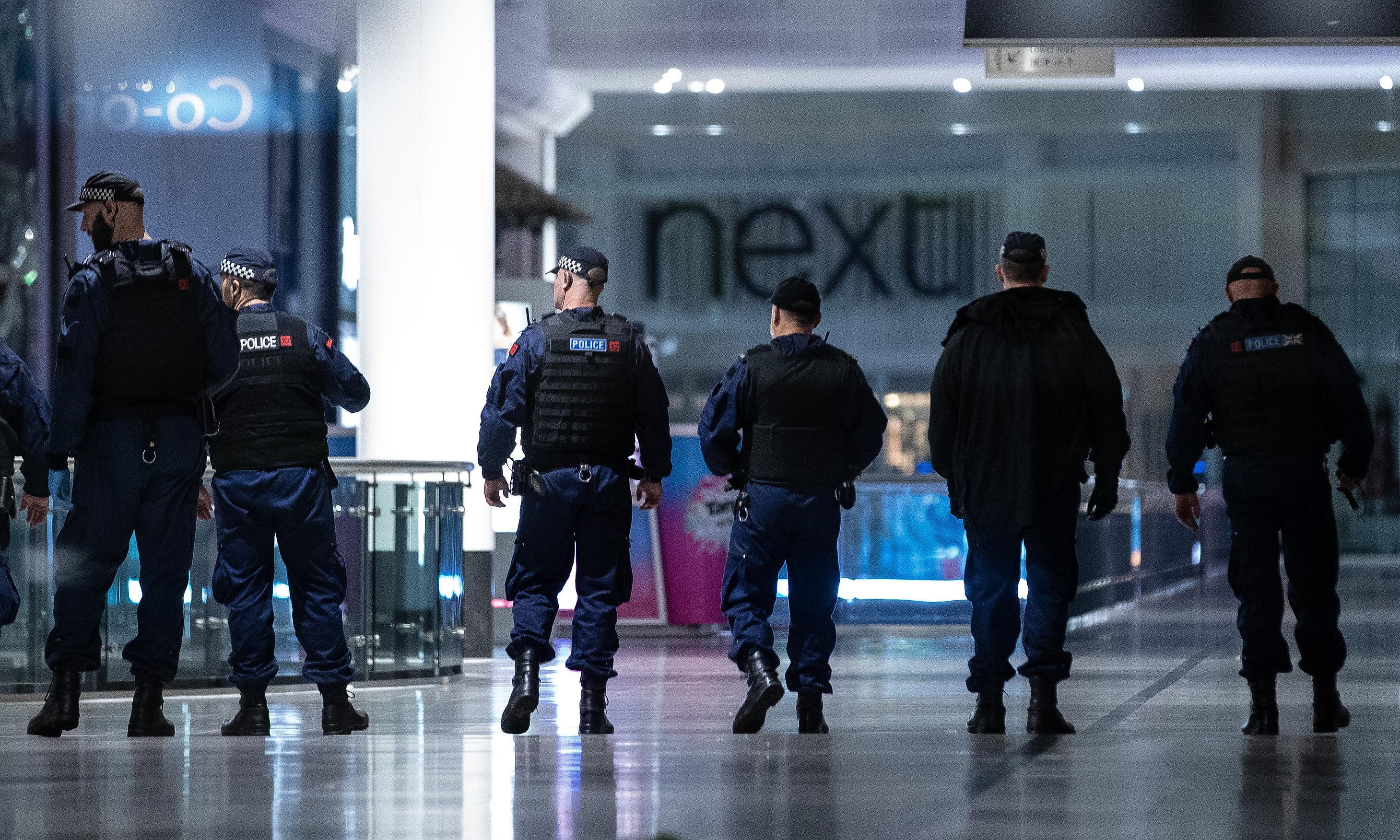Manchester police arrest man after security incident at Arndale centre