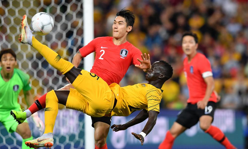 Most of the Socceroos' shots from inside the penalty area on Saturday came after the introduction of Awer Mabil.