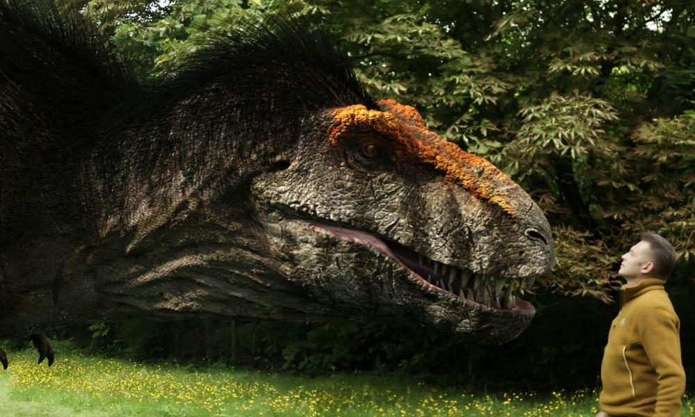 Our restored Tyrannosaurus rex won't be right in every detail