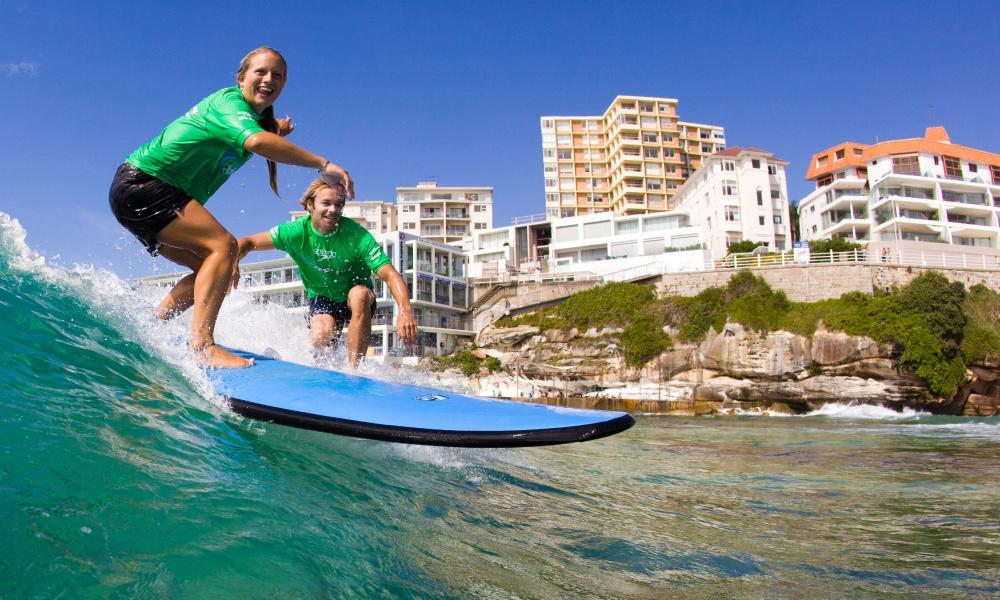 Lets Go Surfing, North Bondi, Sydney