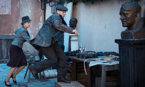 Kurier review – Polish war hero fights through gritty spy thriller