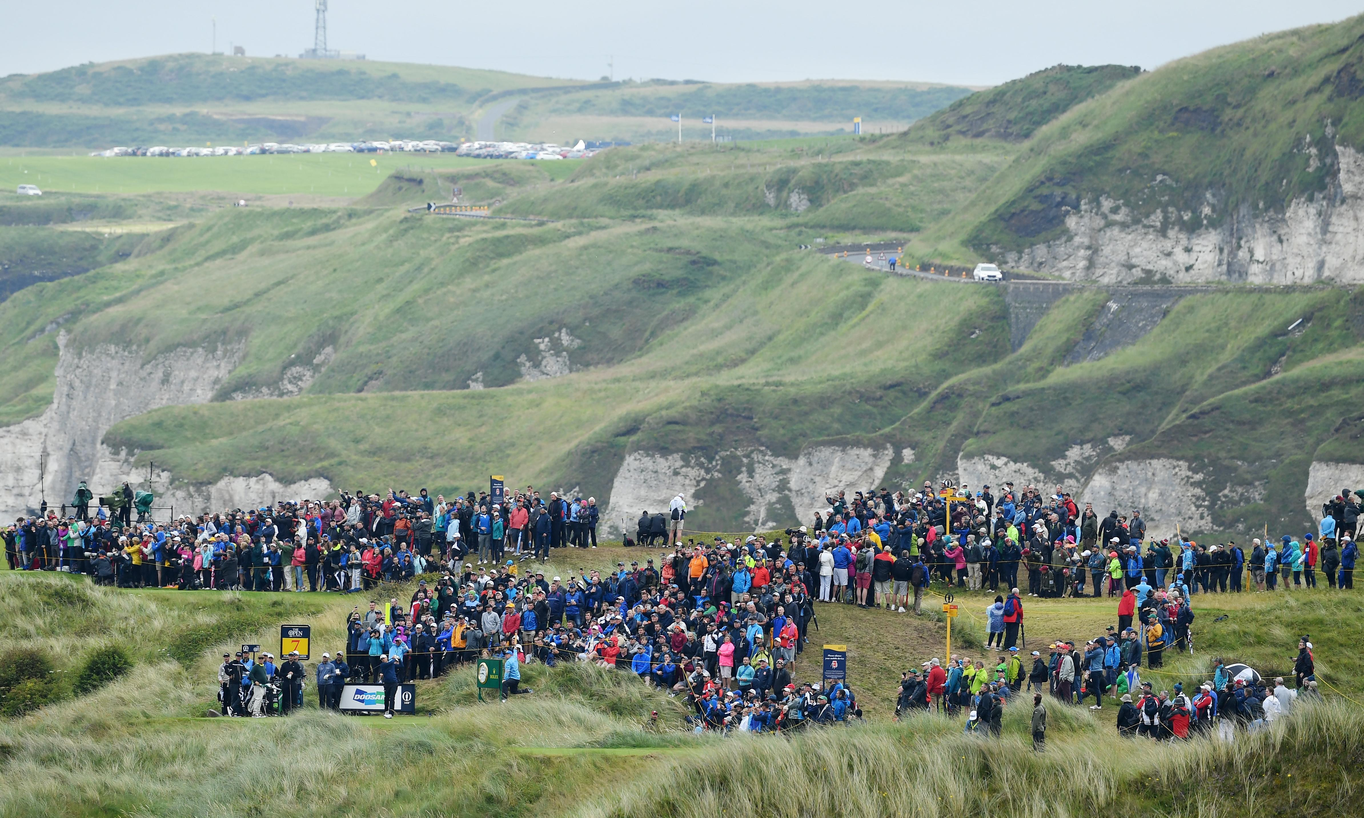 An Open that will make its mark beyond the game and the course