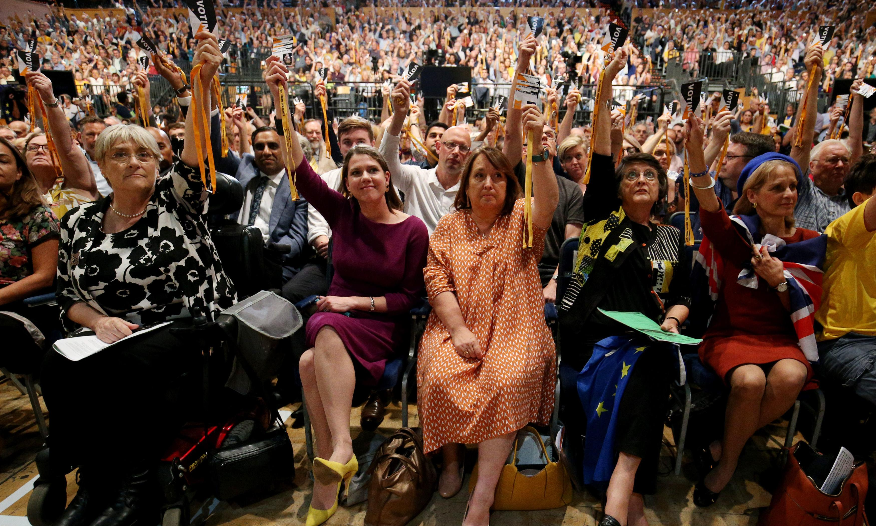 Today at the Liberal Democrat conference