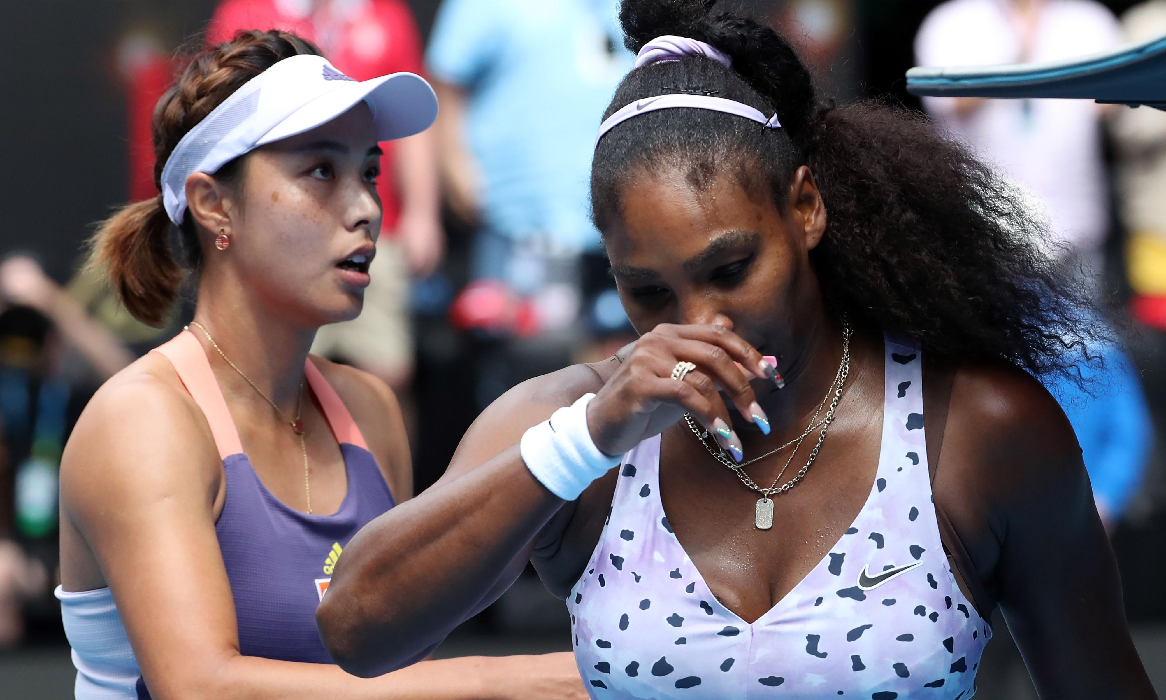 Serena Williams and Wozniacki share their sorrow after Australian Open exits