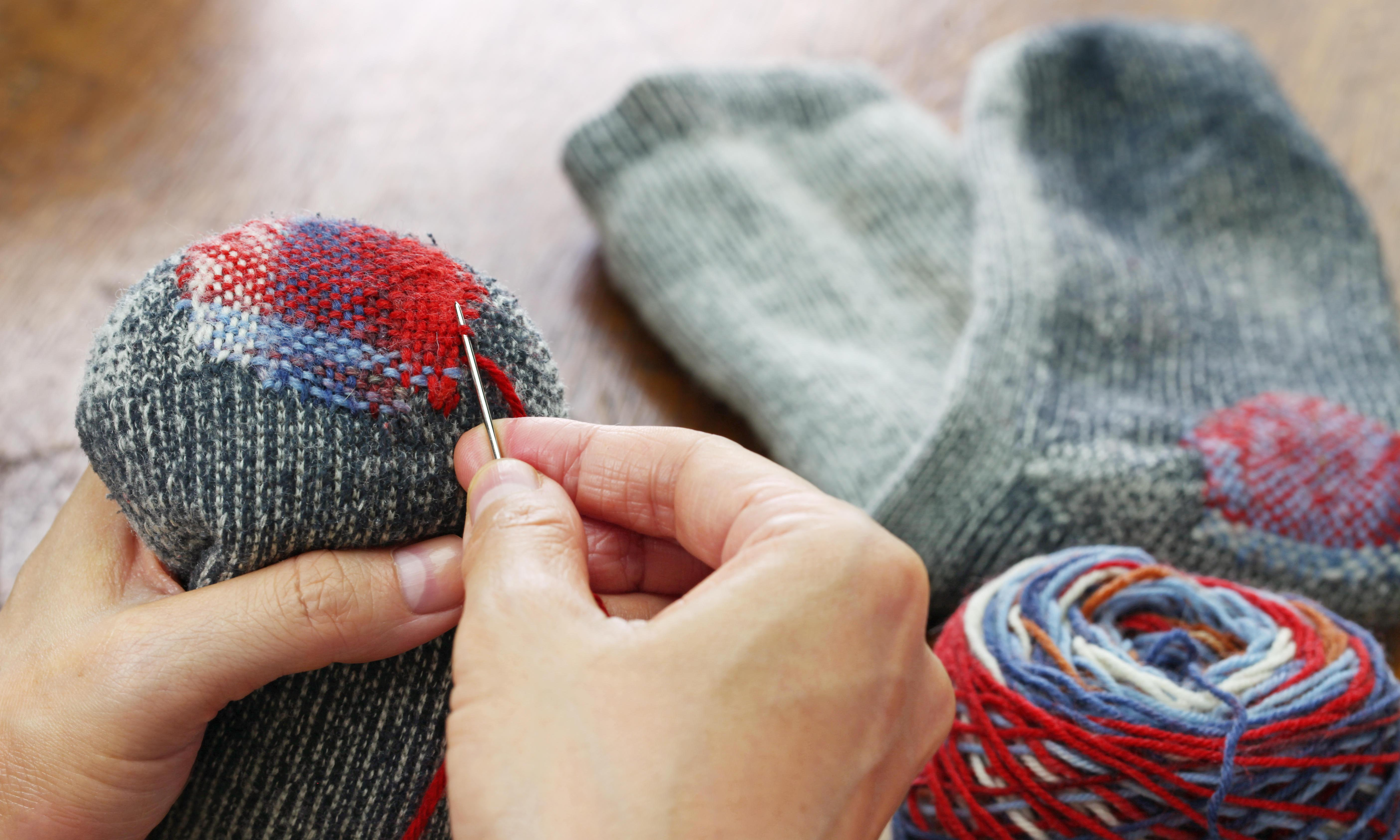 Fix up, look sharp: how to mend more and buy less