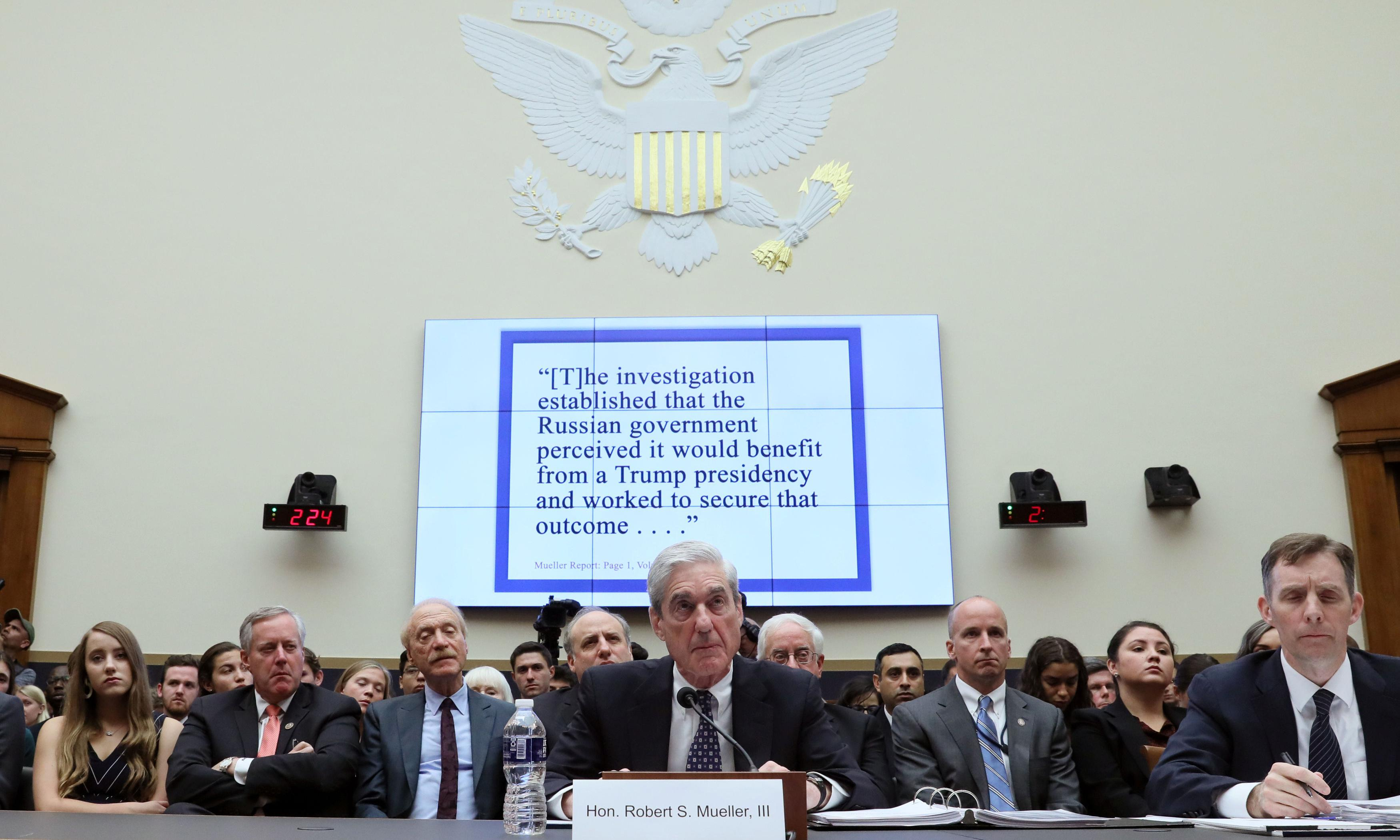Mueller's testimony on Trump and Russia: the biggest takeaways