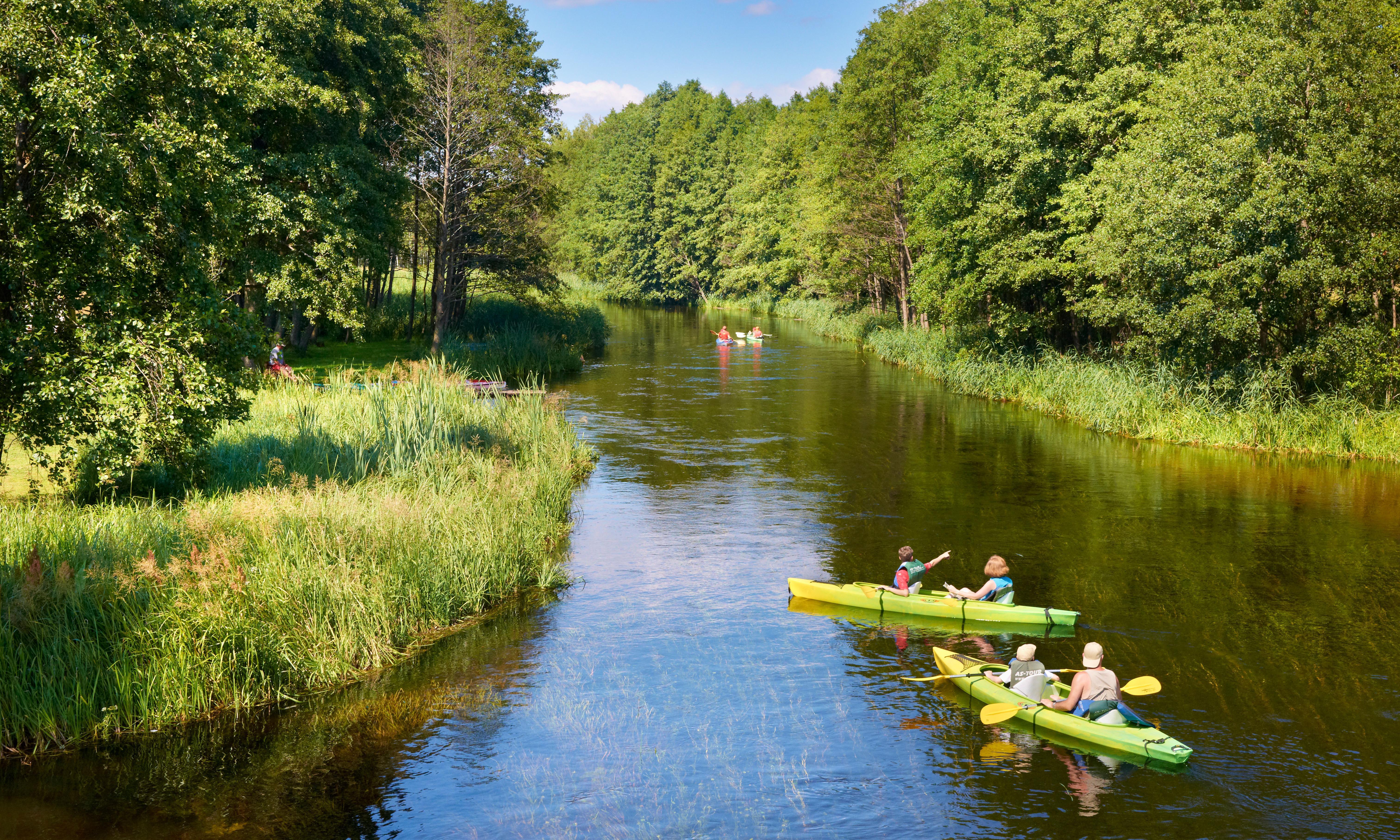 Paddler's paradise: Poland's lakeland