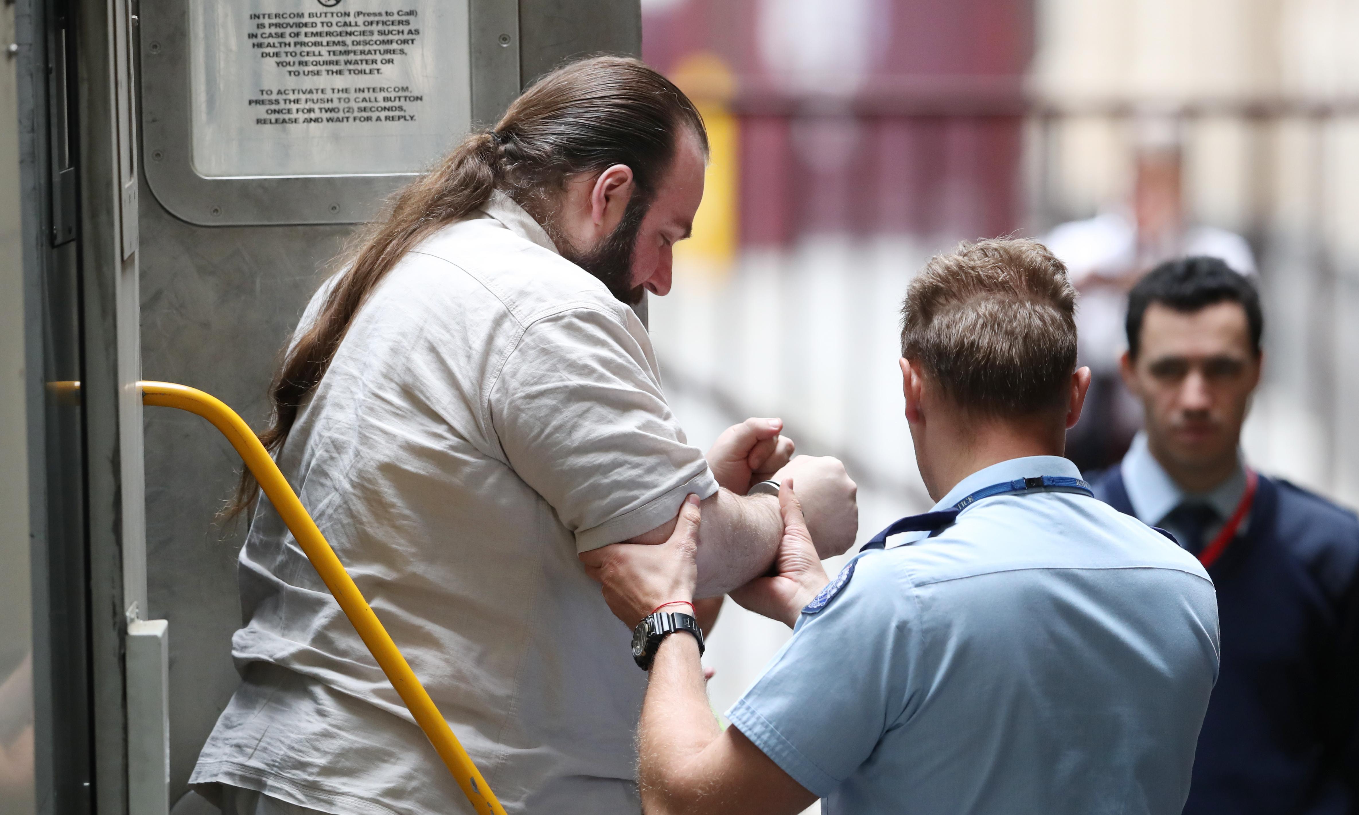 Accused far-right terrorist says how-to massacre document was 'satire'