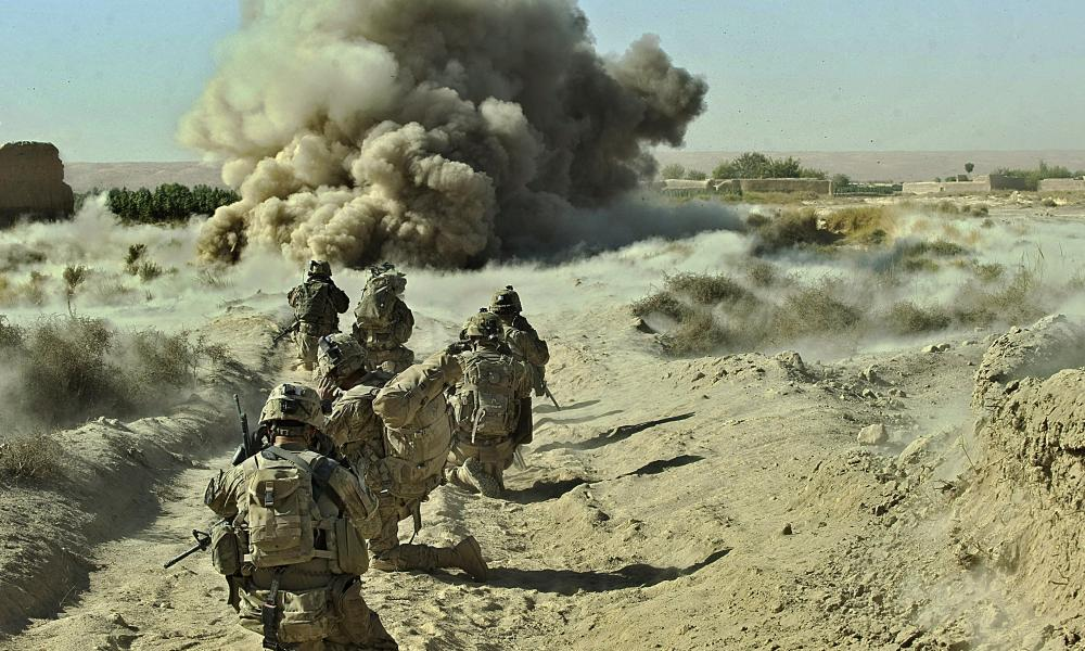 It is estimated that the US has spent $8tn fighting terrorism since 2001, including $300m a day in Afghanistan alone