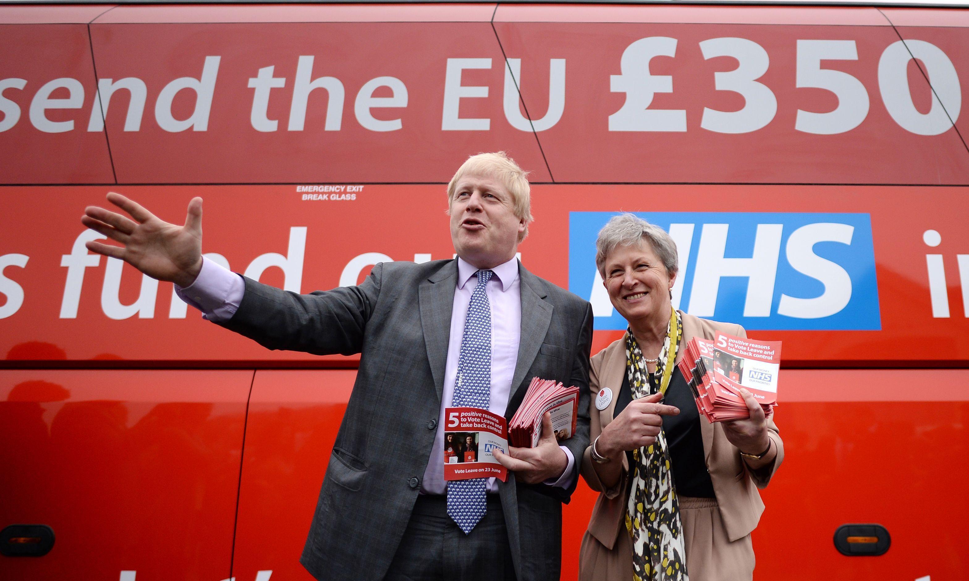 Judge rejects court action against Boris Johnson over £350m Brexit claim